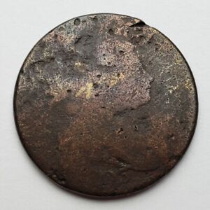 1803 DRAPED BUST LARGE CENT DAMAGED CULL