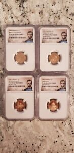 2009 S LINCOLN BICENTENNIAL SET   NGC PF69 RED ULTRA CAMEO   LINCOLN LABEL
