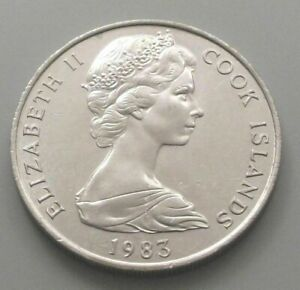 COOK ISLANDS 20 CENTS 1983  DB58