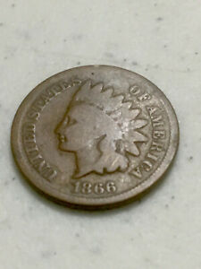 INDIAN CENT 1866