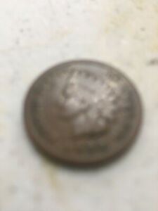 INDIAN CENT 1886