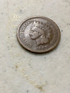 INDIAN HEAD CENT 1867