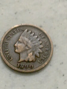 INDIAN CENT 1890