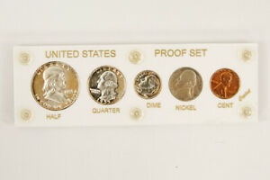 Click now to see the BUY IT NOW Price! 1955 US MINT PROOF SET W/CAPITAL PLASTIC HOLDER