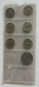 COLLECTION LOT UNITED STATES 7PC 60G XXK 110