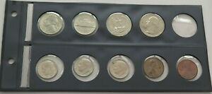 SMALL GROUP / COLLECTION / LOT UNITED STATES 9 PC 53 G  ZZB 57