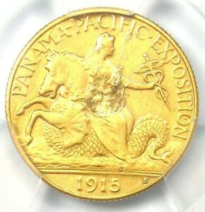 1915 S PANAMA PACIFIC GOLD QUARTER EAGLE $2.50 COIN   CERTIFIED PCGS XF DETAILS