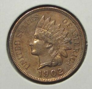 1902 INDIAN HEAD PENNY CENT 1C PROOF DETAILS  102202