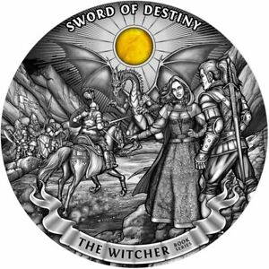 Click now to see the BUY IT NOW Price! NIUE 2020   THE WITCHER BOOK SERIES SWORD OF DESTINY $50 SILVER COIN 1KG