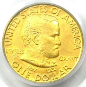 1922 GRANT GOLD DOLLAR G$1   CERTIFIED PCGS AU58    COMMEMORATIVE COIN