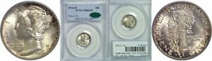 Click now to see the BUY IT NOW Price! 1916 D MERCURY DIME PCGS MS 65 FB CAC