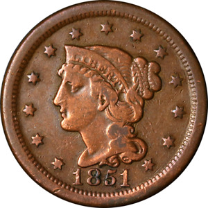 1851/81 LARGE CENT GREAT DEALS FROM THE EXECUTIVE COIN COMPANY