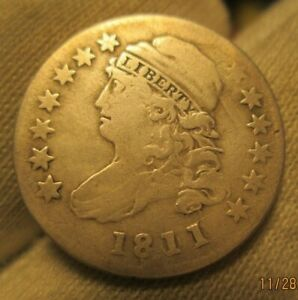 1811/09 CAPPED BUST DIME  DATE