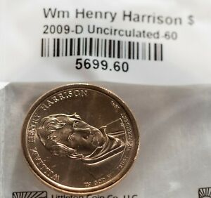 2009 P WILLIAM HENRY HARRISON PRESIDENTIAL DOLLAR UNCIRCULATED