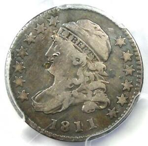 1811/09 CAPPED BUST DIME 10C   CERTIFIED PCGS FINE DETAILS    DATE