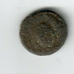 ANCIENT ROMAN BYZANTINE BRONZE COIN MAURICE TIBERIUS