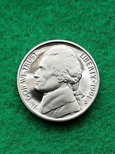 1991 S  JEFFERSON NICKEL UNCIRCULATED/CAMEO   PROOF   FREE SHIP