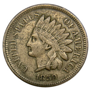 1859 INDIAN HEAD CENT UNCERTIFIED COIN