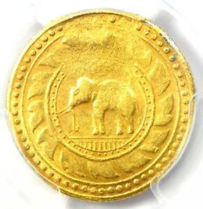 Click now to see the BUY IT NOW Price! 1863 THAILAND GOLD TOT ELEPHANT COIN 8 BAHT Y 15   CERTIFIED PCGS XF DETAIL  EF