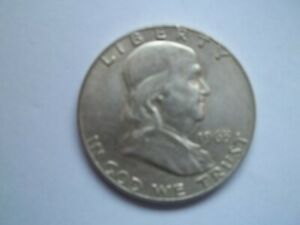1963 D FRANKLIN HALF DOLLAR COIN