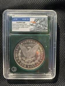 Click now to see the BUY IT NOW Price! 1878 7/8 TF VAM 31 FLASHY SEMI PL FIELDS MORGAN SILVER DOLLAR SHIPS FREE