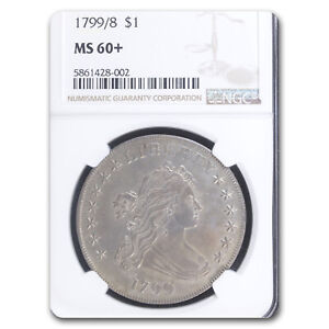 Click now to see the BUY IT NOW Price! 1799/8 DRAPED BUST DOLLAR MS 60  NGC   SKU230036