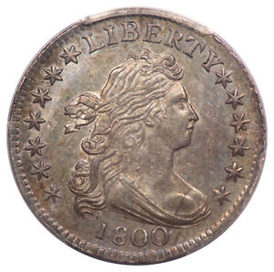 Click now to see the BUY IT NOW Price! 1800 10C DRAPED BUST DIME PCGS MS63  CAC  JR 2
