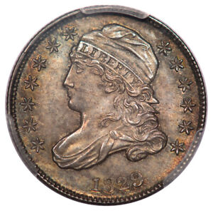 Click now to see the BUY IT NOW Price! 1829 10C MEDIUM 10C CAPPED BUST DIME PCGS MS66 JR12 R3