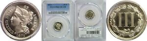 Click now to see the BUY IT NOW Price! 1874 NICKEL THREE CENT PIECE PCGS PR 66  DCAM