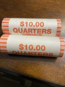 50 STATE QUARTER ROLL 2002 TENNESSEE DENVER MINT UNCIRCULATED ROLL