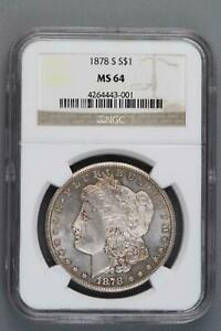 Click now to see the BUY IT NOW Price! TOP 30 1878 S VAM 16 NGC MS 64 MORGAN SILVER DOLLAR SHIPS FREE