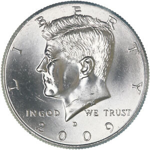 2009 D KENNEDY HALF DOLLAR CN CLAD CHOICE BU US COIN