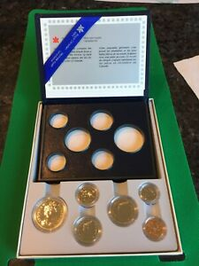 TWO CANADIAN 1985 PROOF SETS. ONE MINT SET.