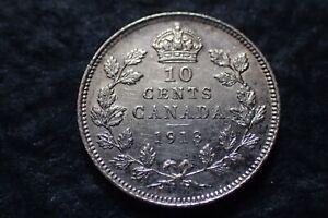 1913  10 CENTS  CANADA   IN CANADA   FOR YOUR COLLECTION ?