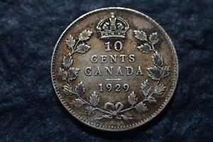 1929  10 CENTS  CANADA   IN CANADA   FOR YOUR COLLECTION ?