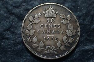 1935  10 CENTS  CANADA   IN CANADA   FOR YOUR COLLECTION ?