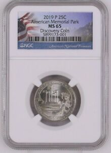 Click now to see the BUY IT NOW Price! NGC DISCOVERY COIN. 2019 P AMERICAN MEMORIAL PARK  DDO 001 DOUBLED DIE QUARTER
