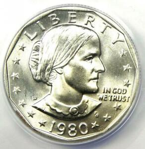 Click now to see the BUY IT NOW Price! 1980 D SUSAN B ANTHONY DOLLAR $1   CERTIFIED ANACS MS68   $400 VALUE IN MS67
