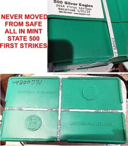 Click now to see the BUY IT NOW Price! 2014 500 COIN SILVER EAGLE MONSTER BOX WEST POINT MINT STATE 1ST STRIKE JANUARY