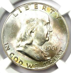 Click now to see the BUY IT NOW Price! 1961 D FRANKLIN HALF DOLLAR 50C COIN   CERTIFIED NGC MS66 FBL   $5 950 VALUE