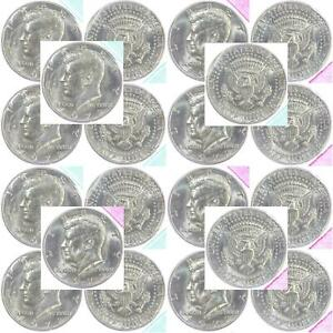 1972 P D KENNEDY HALF DOLLAR MINT CELLO ROLL 20 US COIN LOT