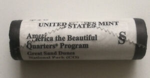 MINT SEALED ROLL 2014 S AMERICA THE BEAUTIFUL GREAT SAND DUNES NATIONAL PARK CO