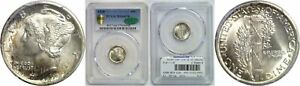 Click now to see the BUY IT NOW Price! 1918 MERCURY DIME PCGS MS 66 FB CAC
