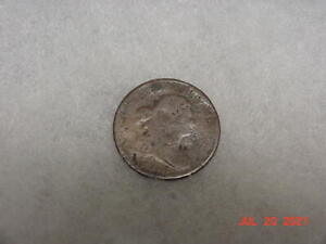 EARLY 1800'S HALF CENT NO DATE
