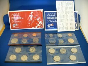 2005 UNITED STATES UNCIRCULATED COIN MINT SET