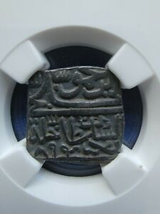 Click now to see the BUY IT NOW Price! 1489 KINGDOM OF INDIA MALWA SQUARE  GHIYAS SHAH NGC XF40 GREAT COIN