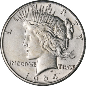 1924 S PEACE DOLLAR GREAT DEALS FROM THE EXECUTIVE COIN COMPANY