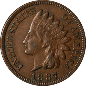 1887 INDIAN CENT GREAT DEALS FROM THE EXECUTIVE COIN COMPANY