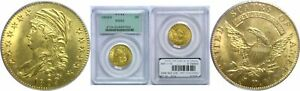 1809/8 $5 GOLD COIN PCGS MS 63