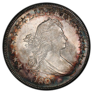 Click now to see the BUY IT NOW Price! 1807 50C O 105 DRAPED BUST DRAPED BUST HALF DOLLAR PCGS MS61